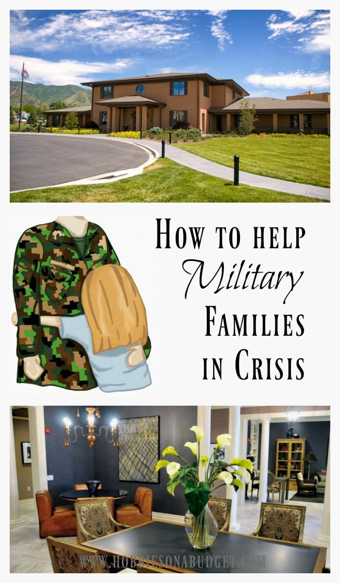 How to help military families in crisi