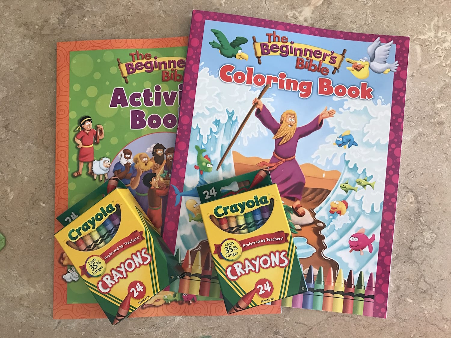 The Beginners Bible Coloring Book Activity