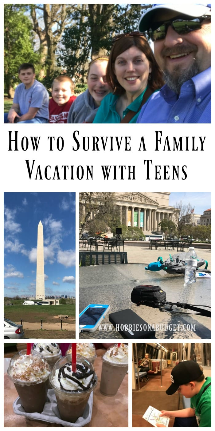 How To Survive A Family Vacation With Teens