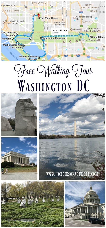 Free Walking Tour Washington DC Monuments