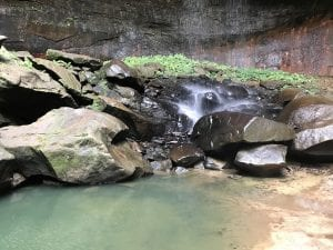 How to find Lick Creek Falls