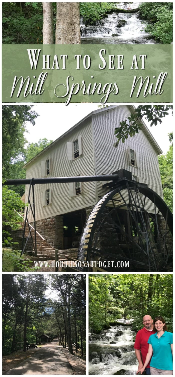 Looking for a beautiful place to explore off the beaten path?  Check out Mill Springs Mill about 20 minutes south of Somerset, Kentucky!  This working mill is a beautiful place to experience history and enjoy amazing waterfalls.