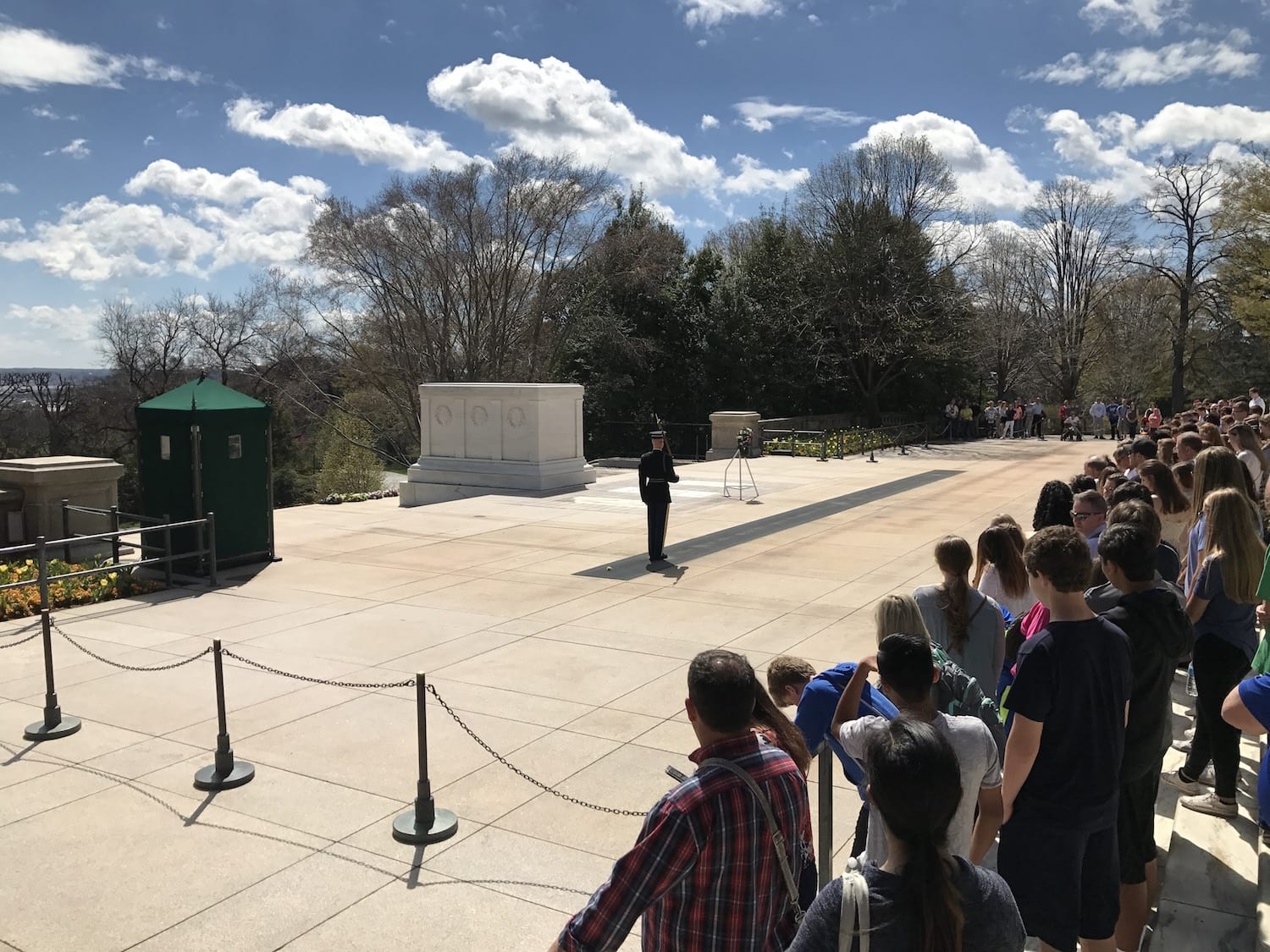 Tomb of the Unknown Soldier - Arlington Cemetery - Washington DC