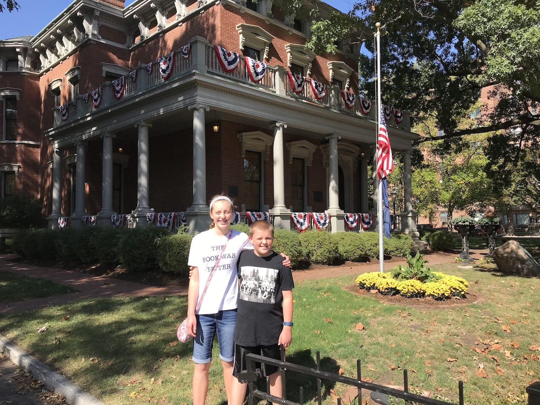 Benjamin Harrison Presidential Site Indianapolis Indiana