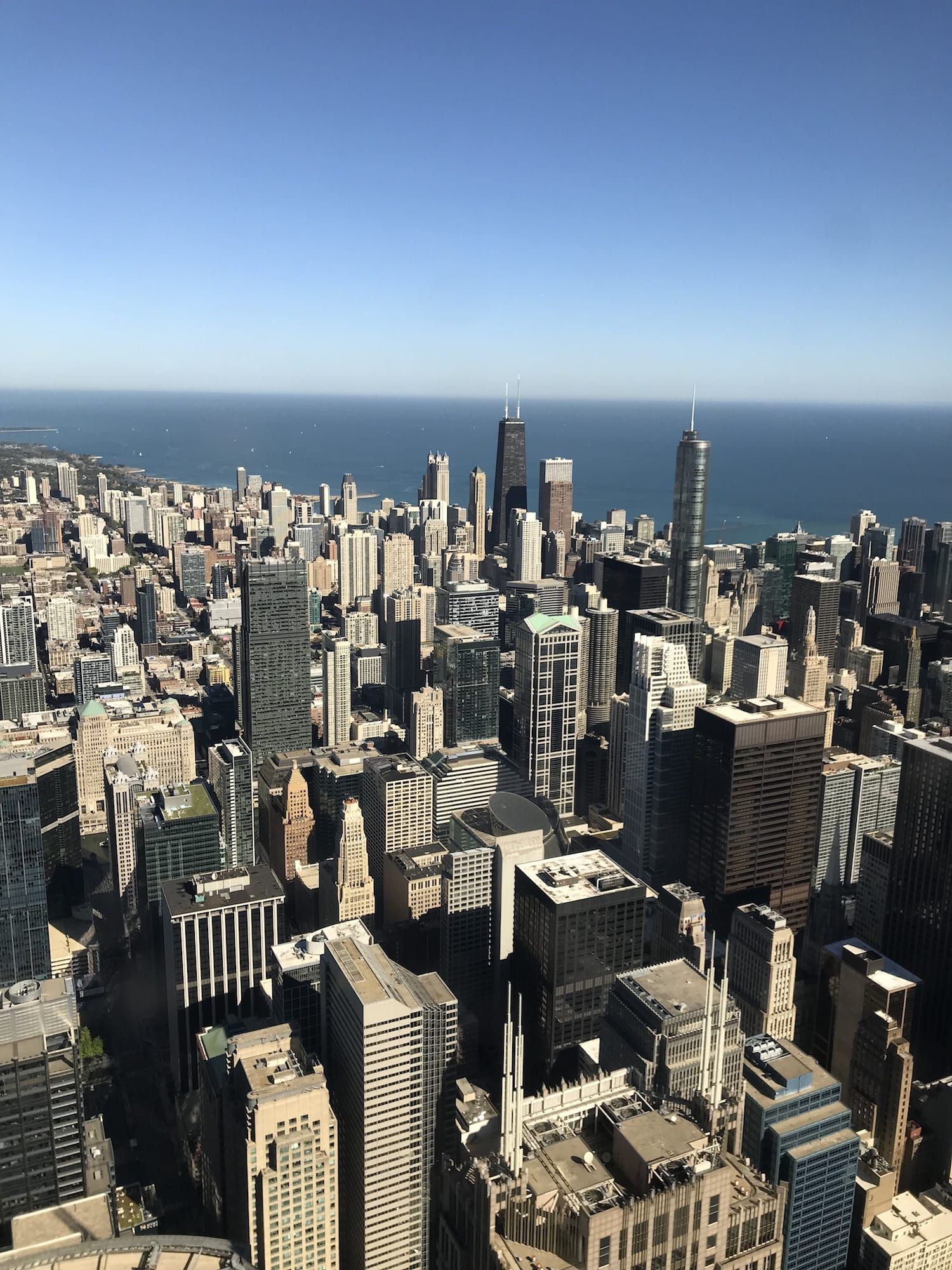 View from the top of Willis Tower