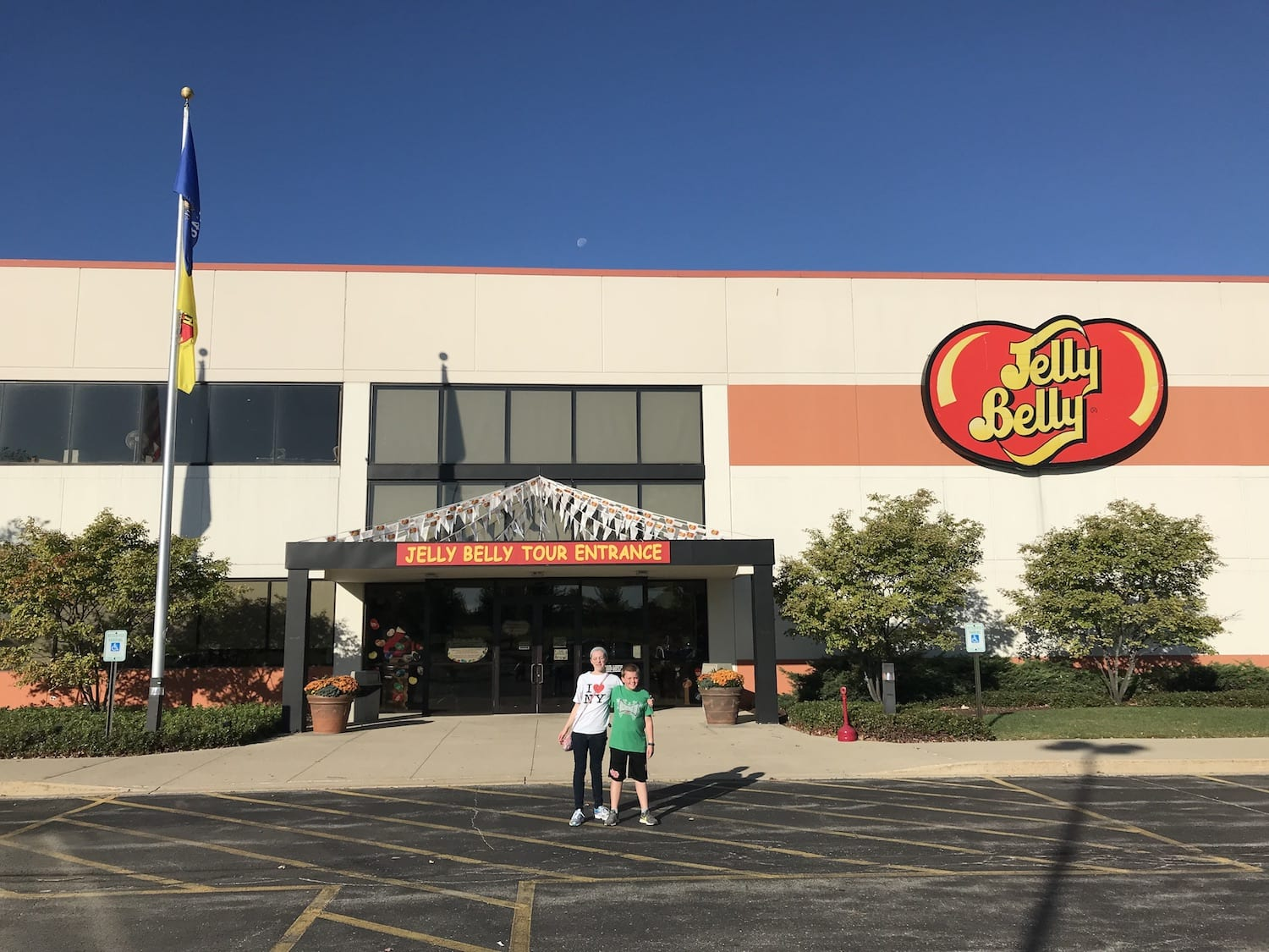 Jelly Belly Warehouse in Pleasant Prairie, Wisconsin