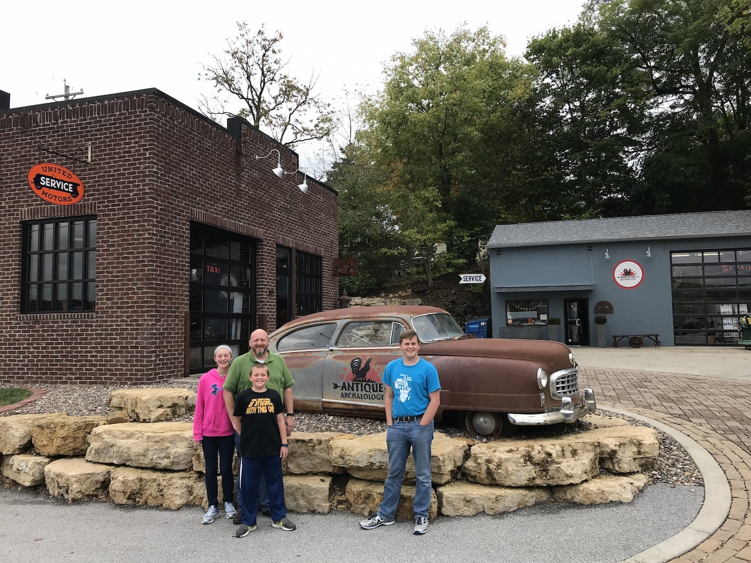 Antique Archaeology Home of American Pickers' Mike Wolfe - Nash