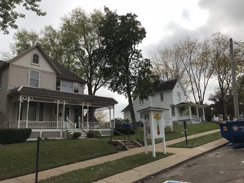 Ronald Reagan Boyhood Home and Visitor Center in Dixon Illinois