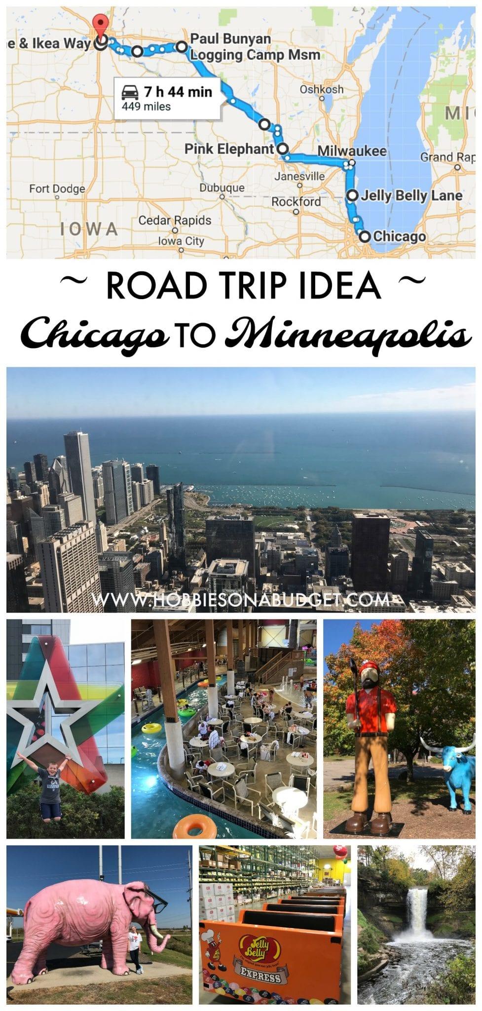 Road Trip Idea:  Chicago to Minneapolis