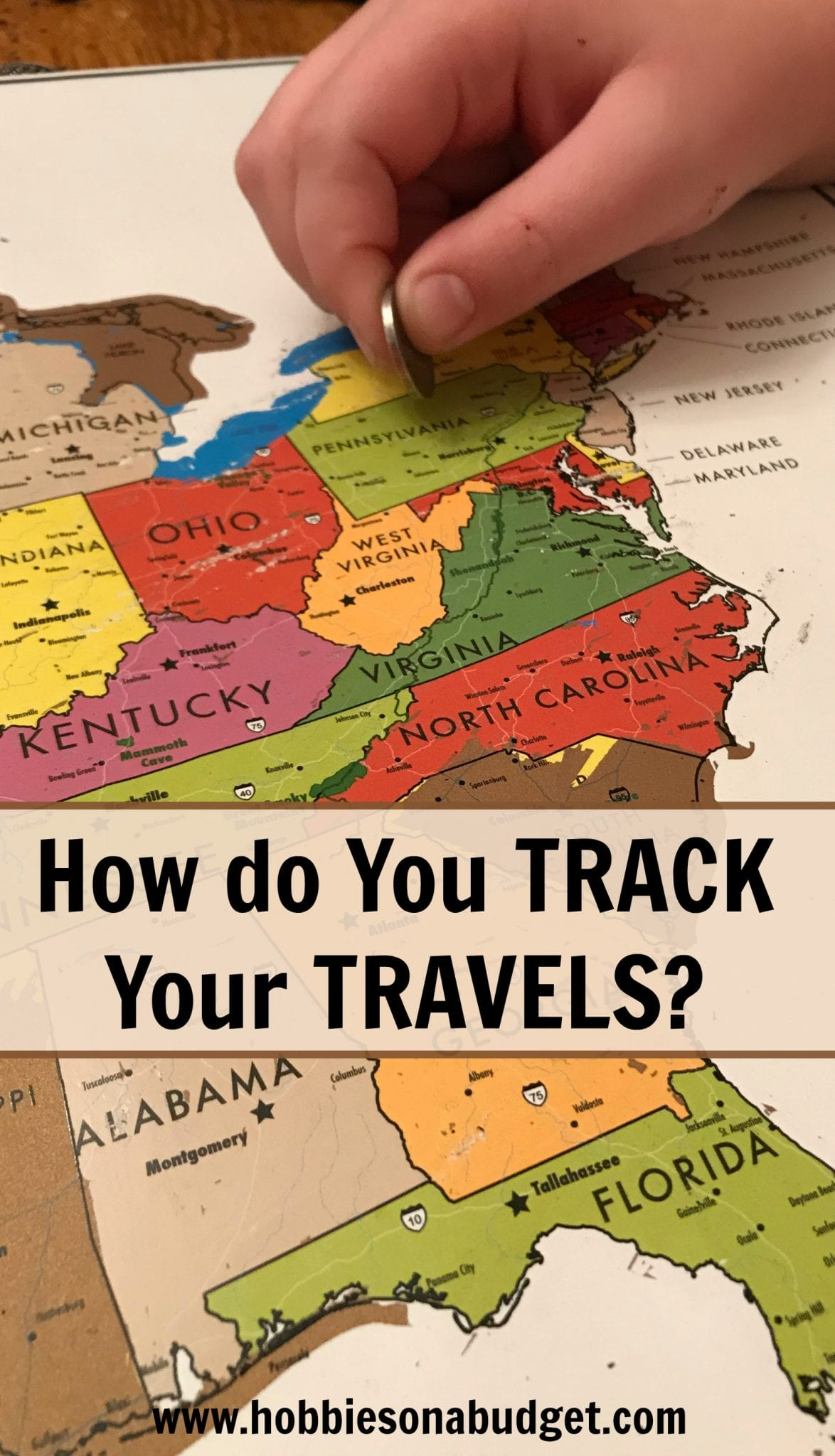 How do you track your travels?