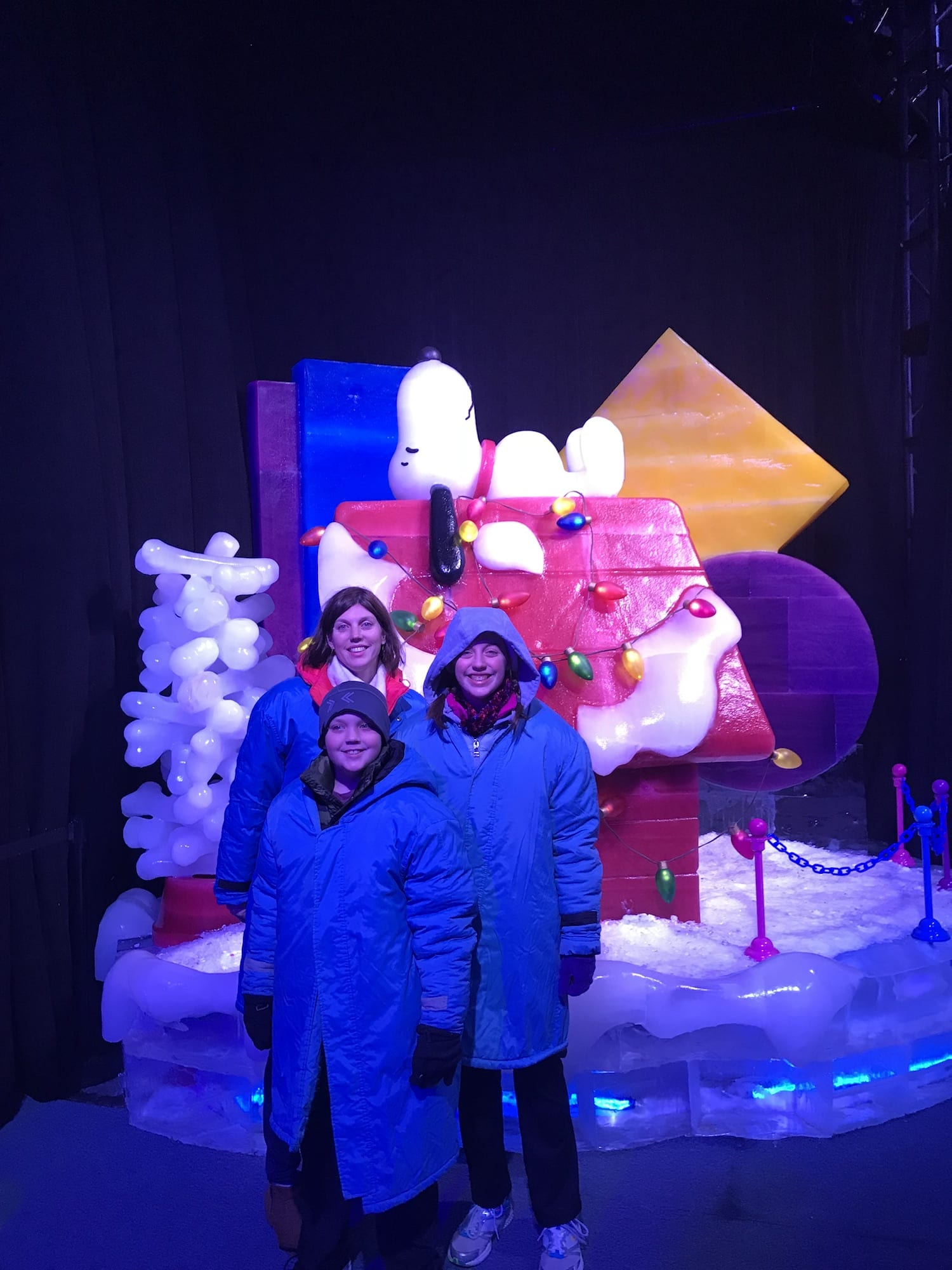 ICE! at Gaylord Opryland Charlie Brown Christmas