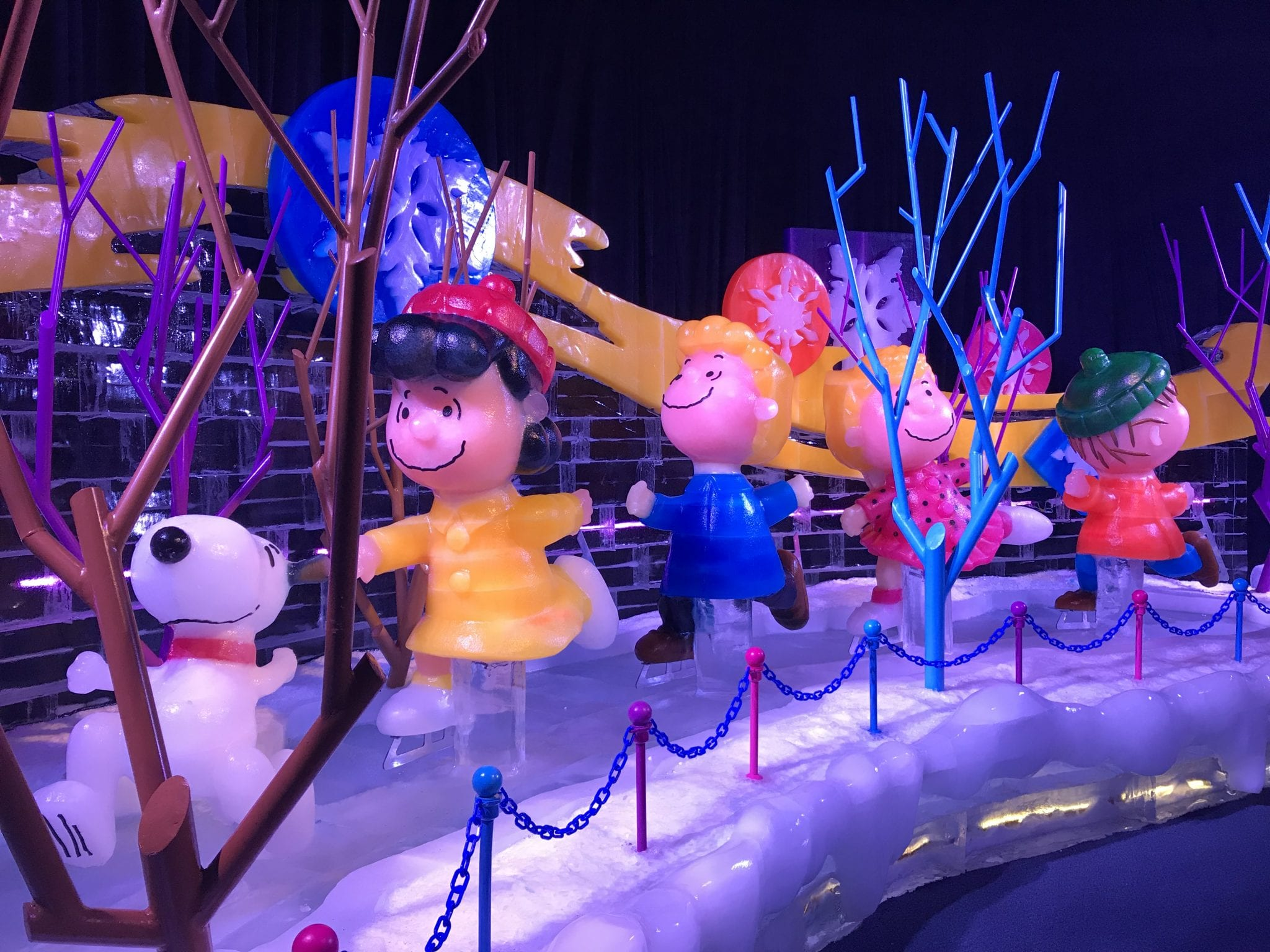 Charlie Brown Christmas ICE! at Gaylord Opryland
