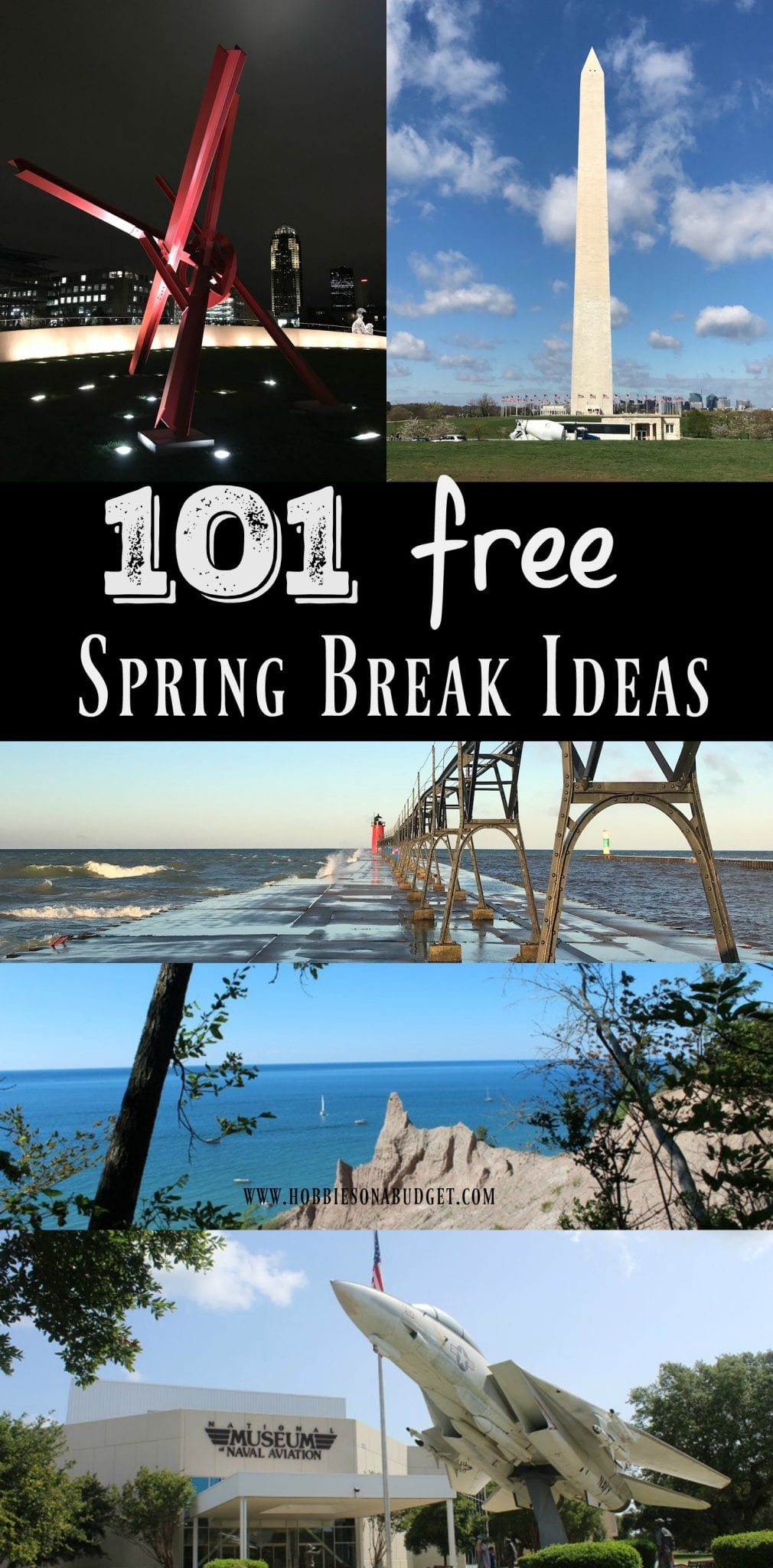 101 Free spring break ideas
