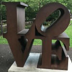 LOVE Sculptures around the US
