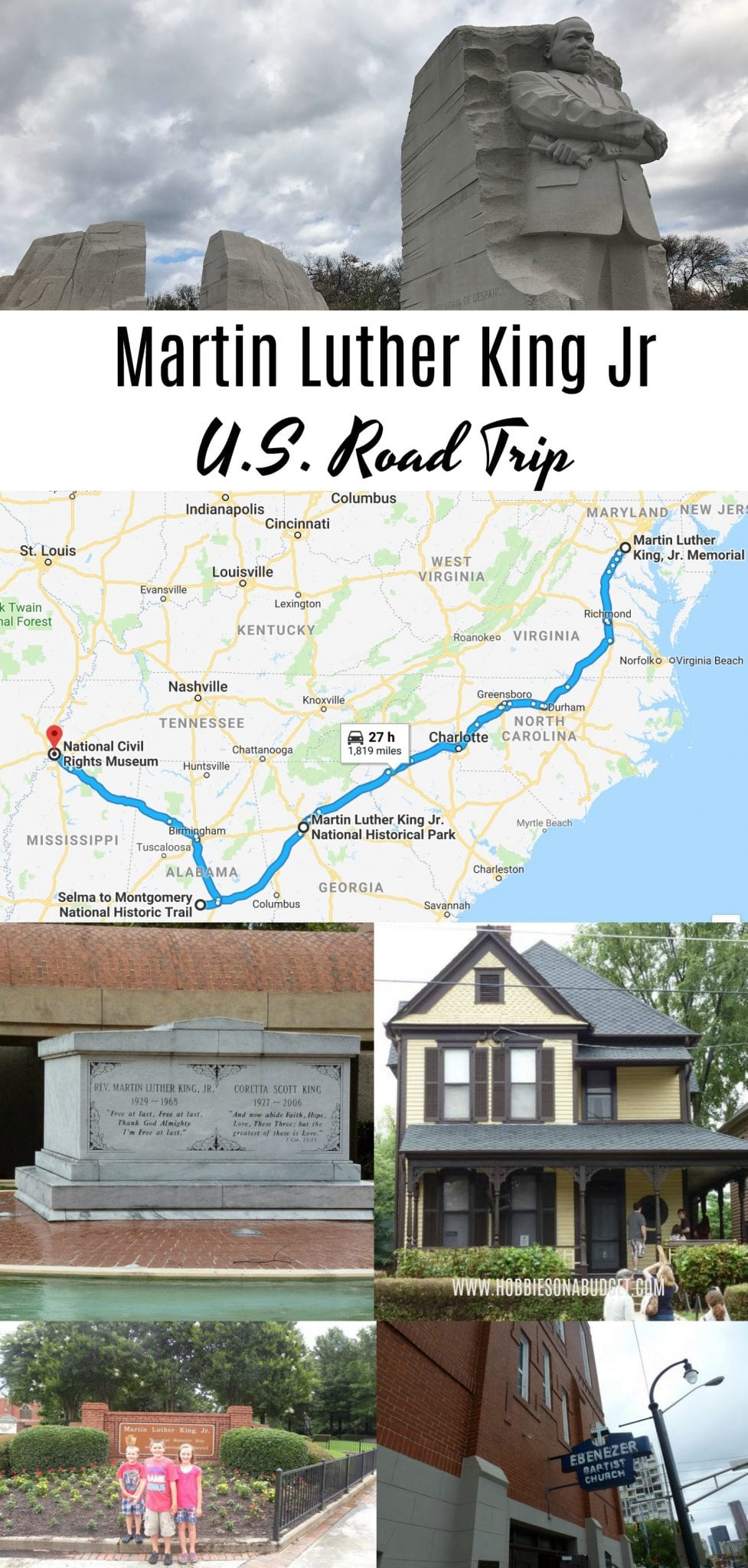 Martin Luther King Jr US Landmark Tour