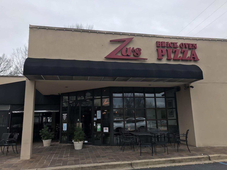 Za's BrickHouse Pizza Columbia South Carolina