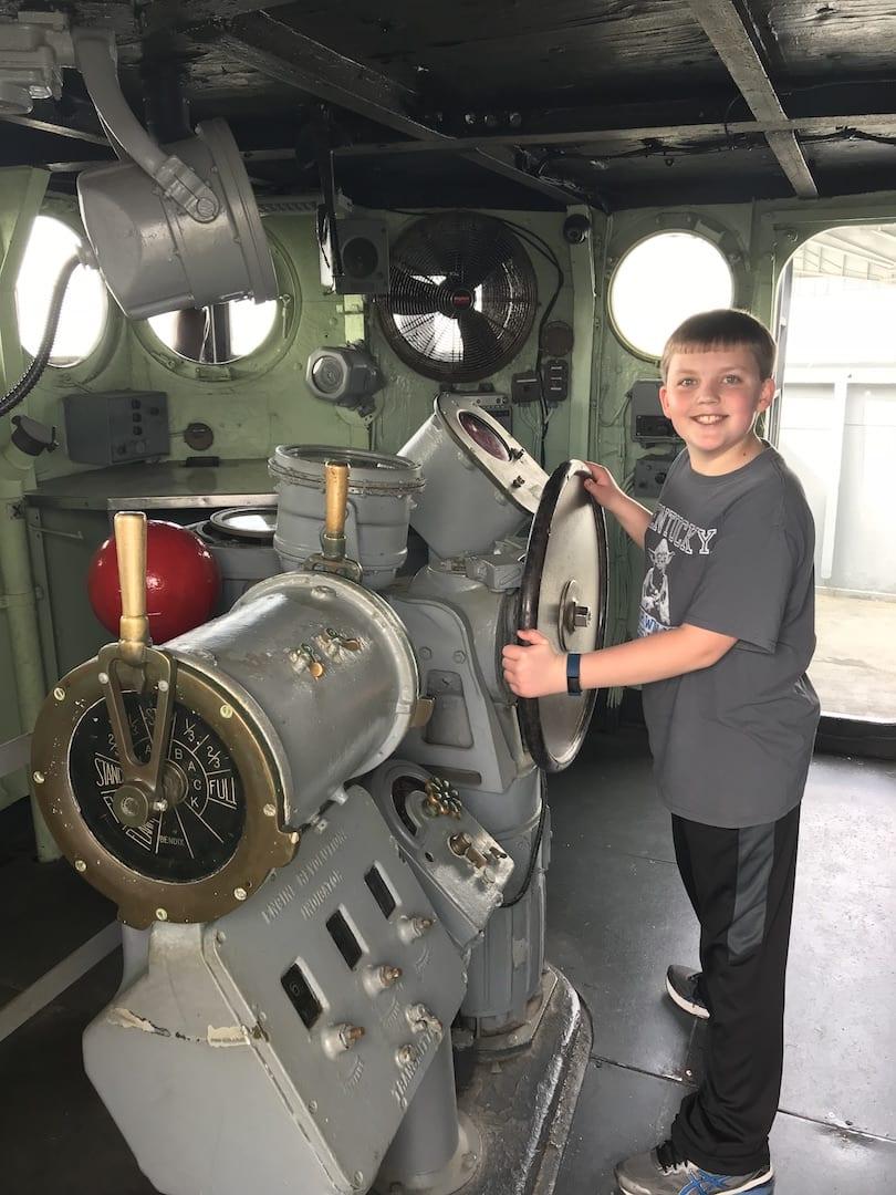 USS Laffey Patriots Point