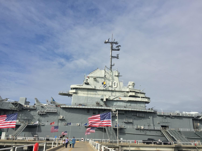USS Yorktown Patriots Point Charleston South Carolina