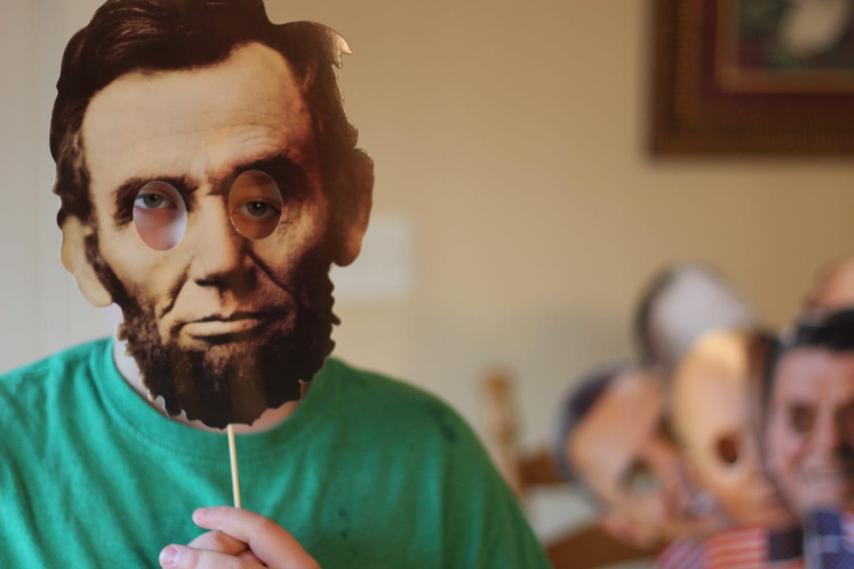 President Masks for party