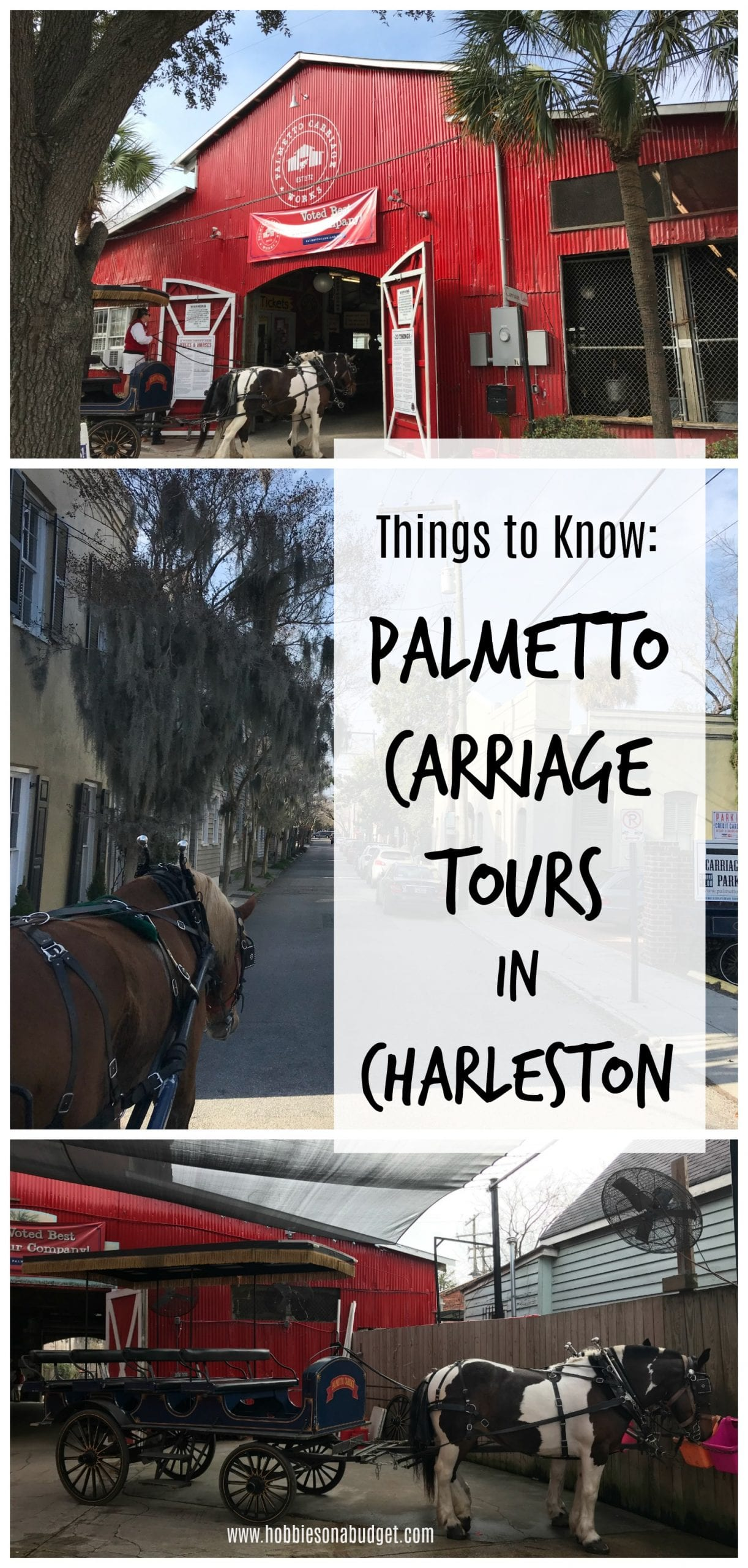 Things to Know Carriage Tours in Charleston
