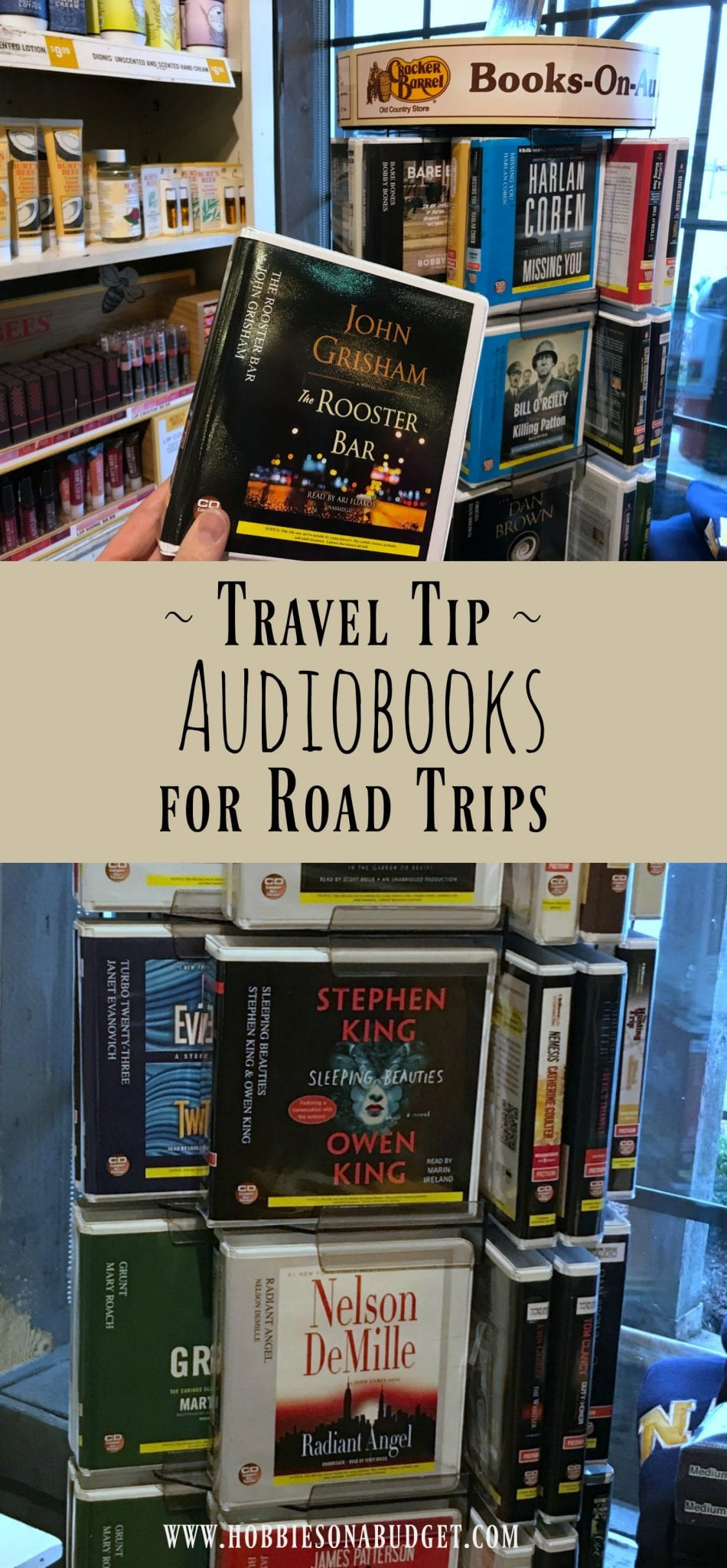 Travel tip Audiobooks for road trips