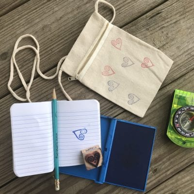 Letterboxing – Treasure Hunts & Rubber Stamps