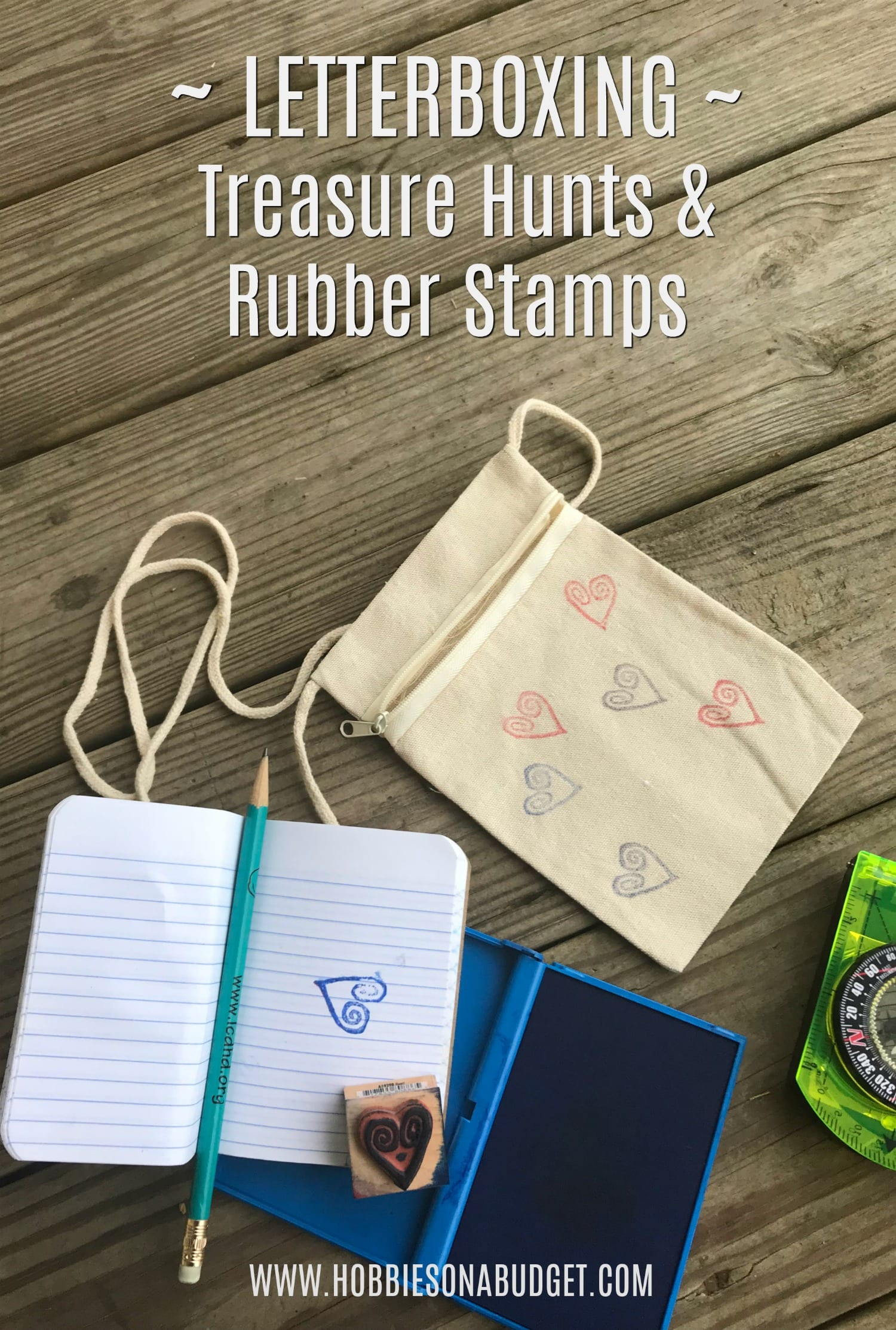 Letterboxing - Treasure Hunts & Rubber Stamps