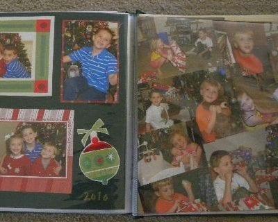 Holiday Scrapbook Memories