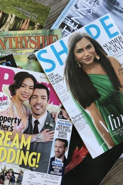 Reuse Magazines