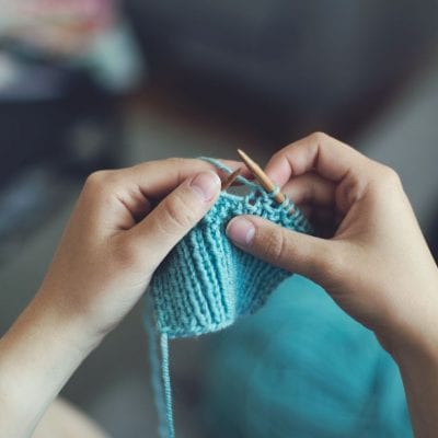Knitting – A Cheap Stress Release