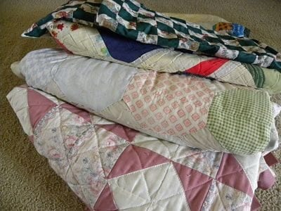 How to Display Your Quilts