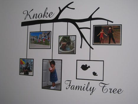 How to Display Your Family Tree