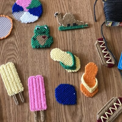 Plastic Canvas Projects for Road Trips