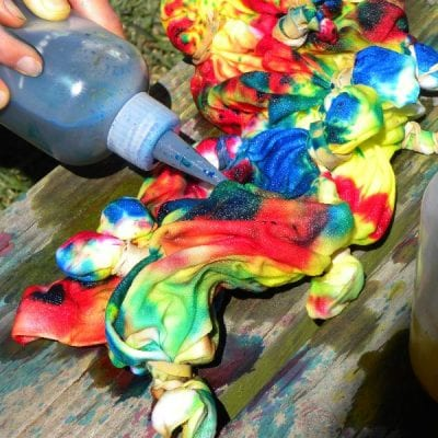Our Tie Dye Experience