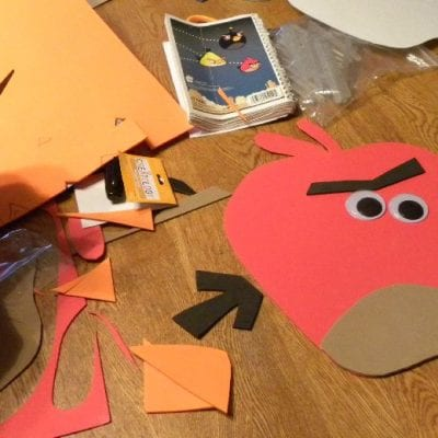 Craft: Apples and Angry Birds