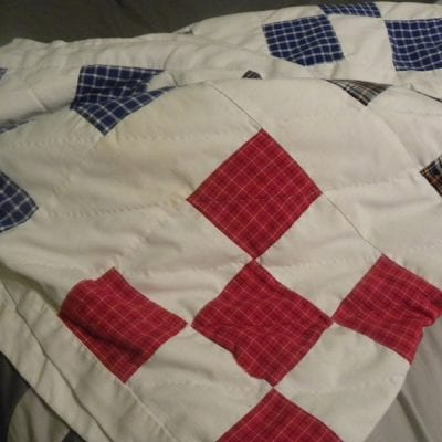Daddy's Drawers Quilt Idea