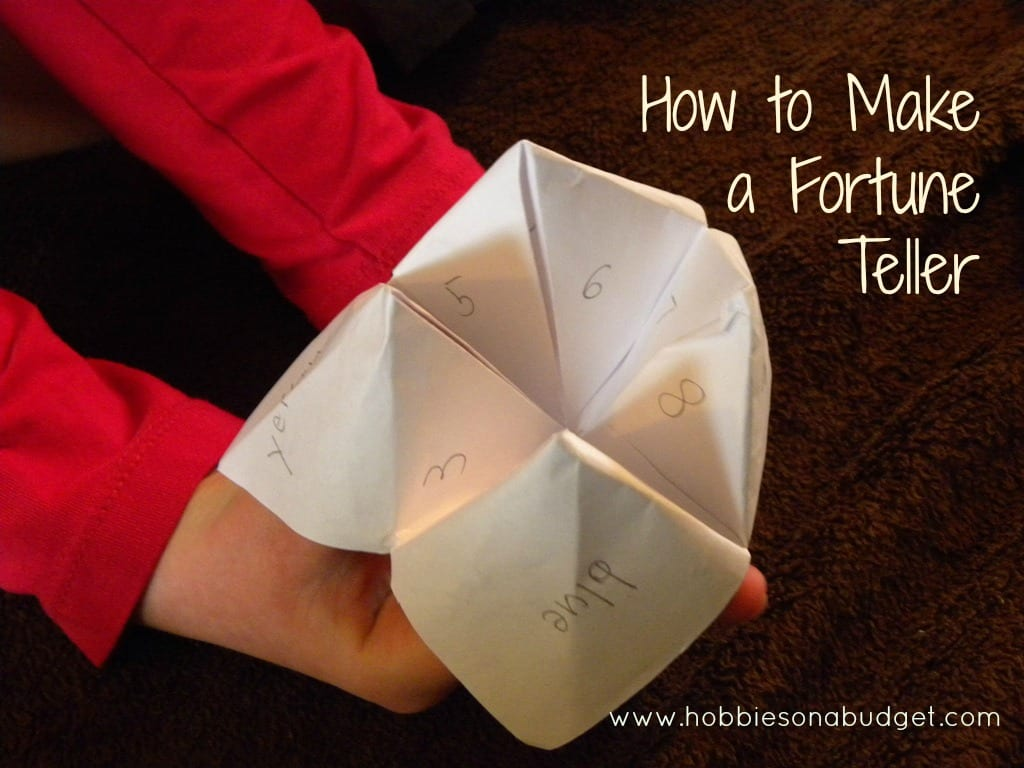 How to make a fortune teller hobbies on a budget jeuxipadfo Gallery
