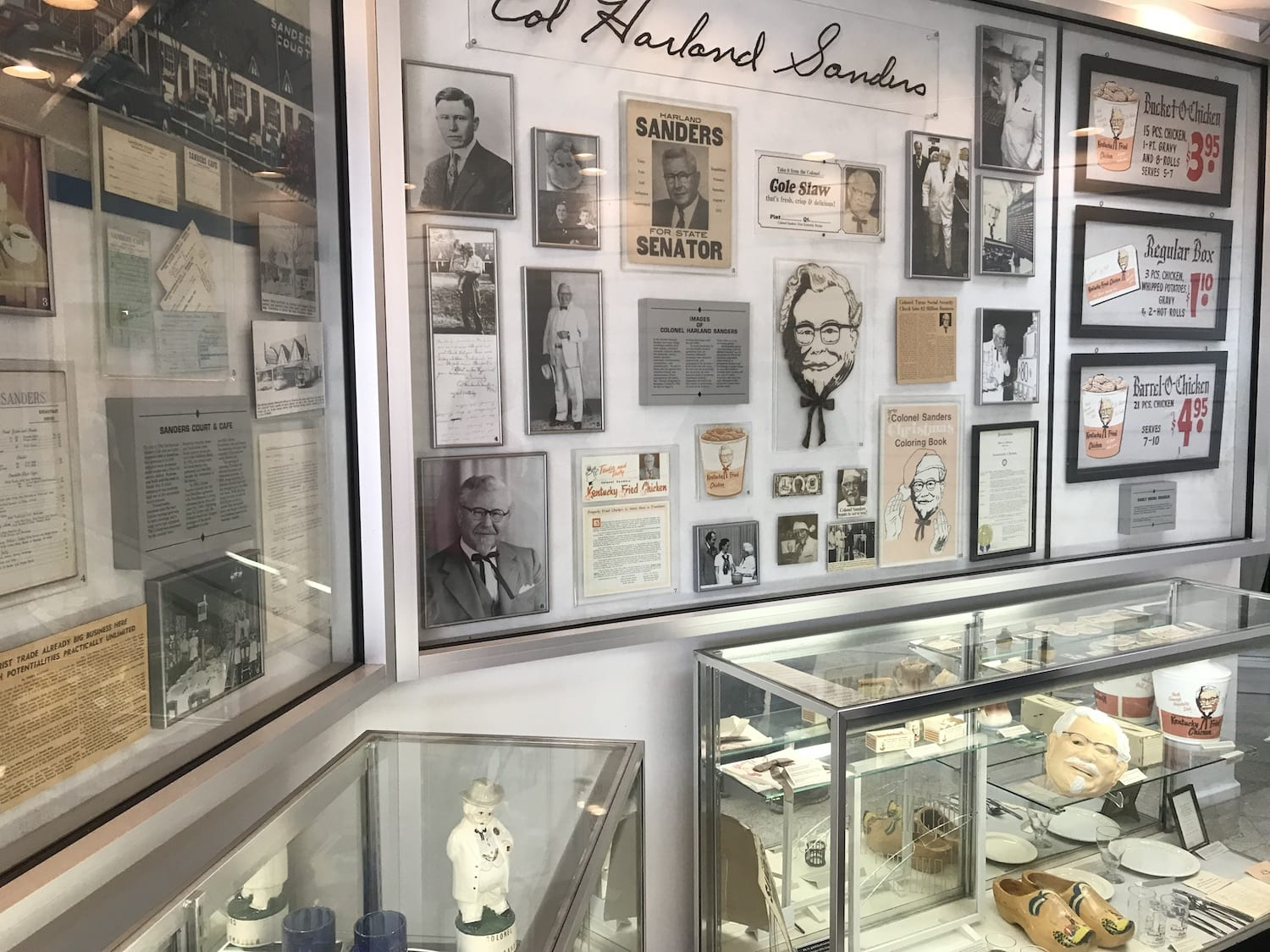 Sanders Cafe Memorabilia and Exhibits