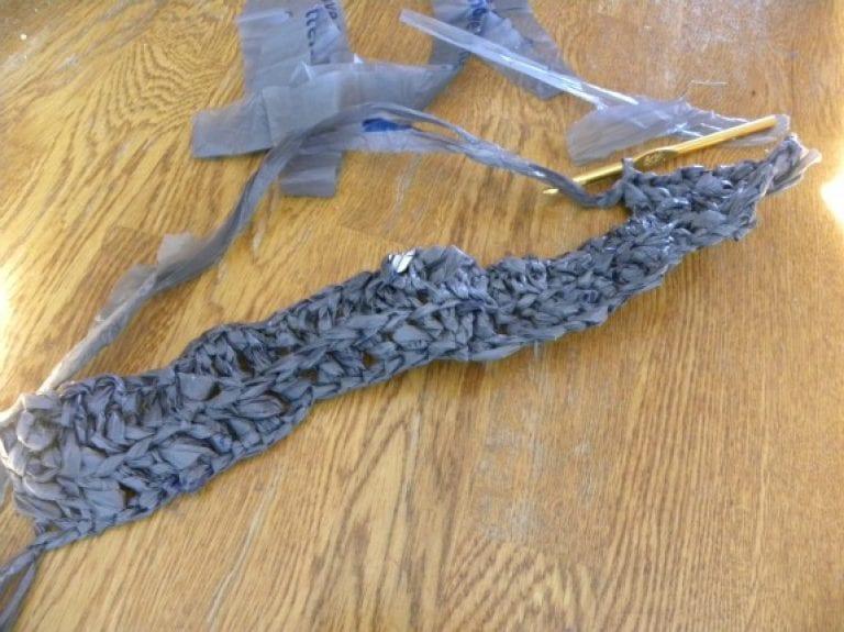 Plarn Crocheted Plastic Bags