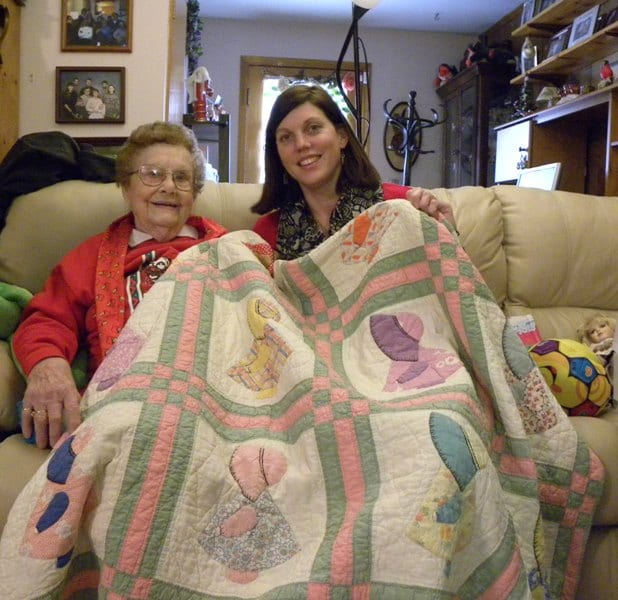 doll quilt