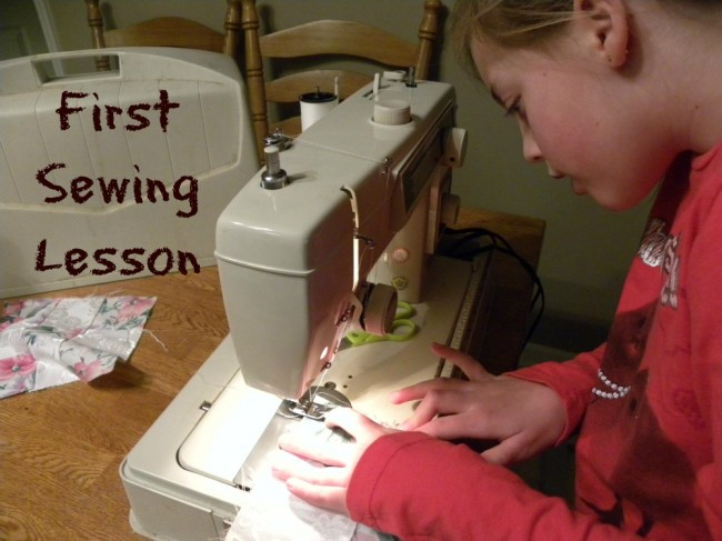 First-Sewing-Lesson