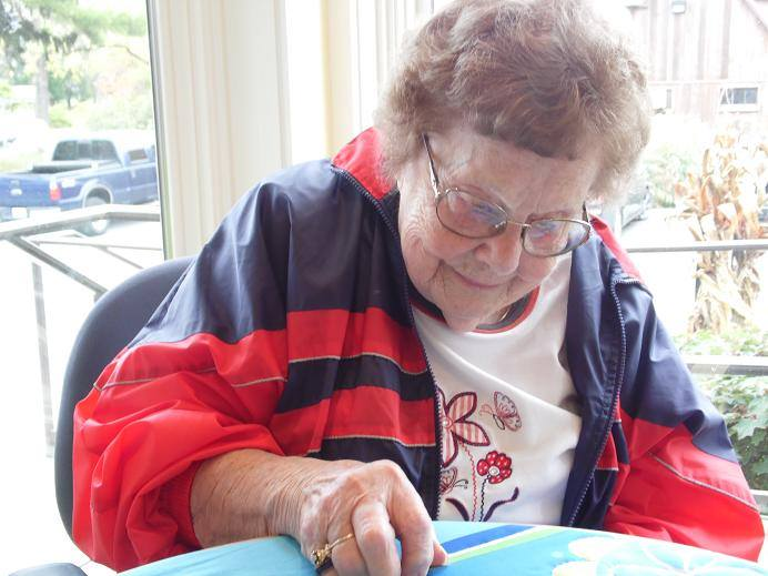Sharing Quilts with New Generations