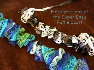 More Super Easy Scarf Options