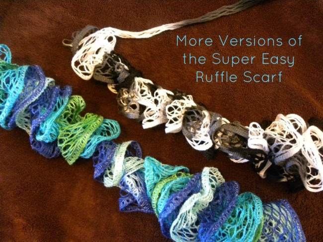 More Super Easy Scarf Options Hobbies On A Budget