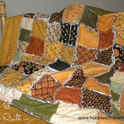 My first Rag Quilt