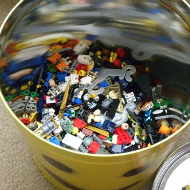 popcorn can with toys