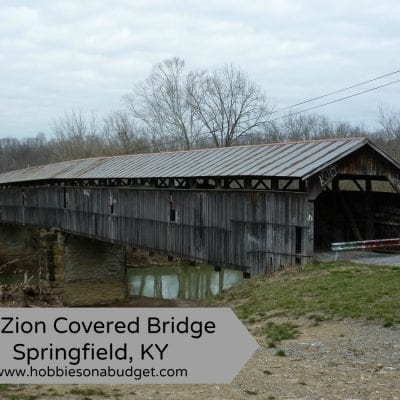 Mt Zion Covered Bridge Springfield, KY
