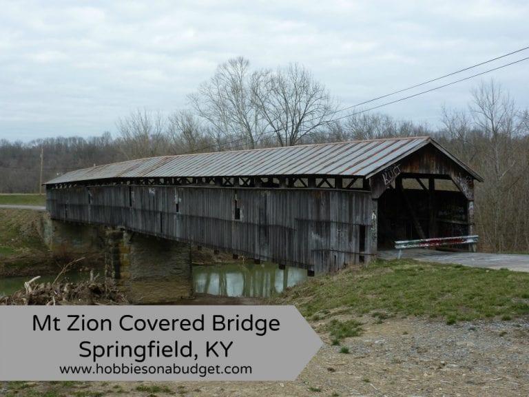 Mt Zion Covered Bridge Springfield, KY