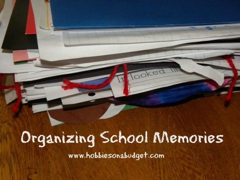 Organizing School Memories