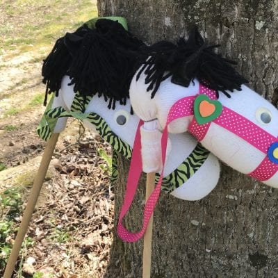 Stick Horses for Derby Day